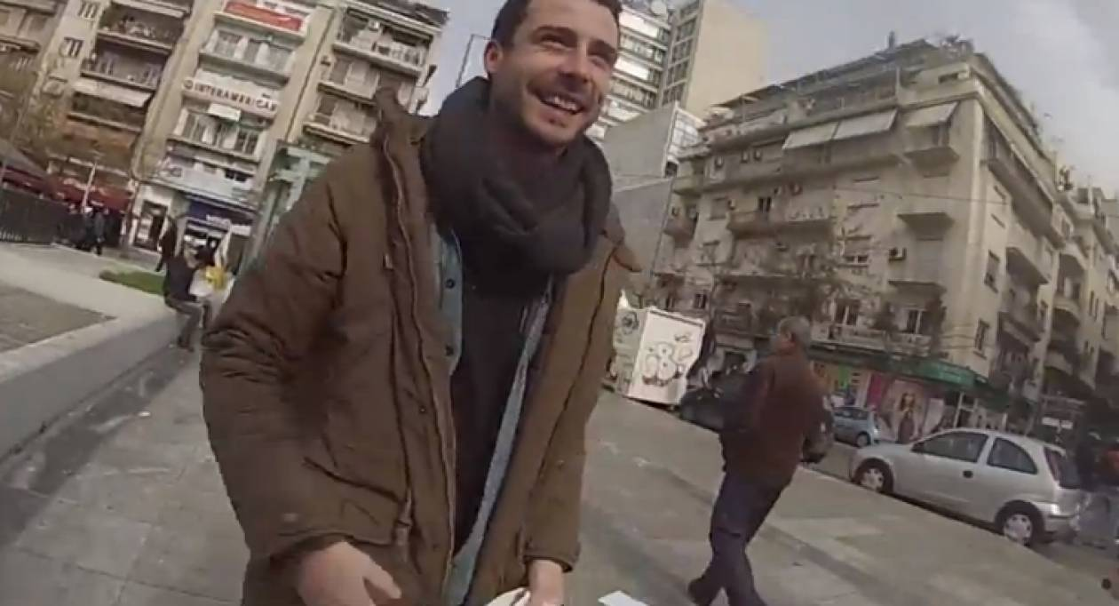 Ξένοι φοιτητές μαζεύουν ρούχα και τρόφιμα για τους άστεγους της Αθήνας