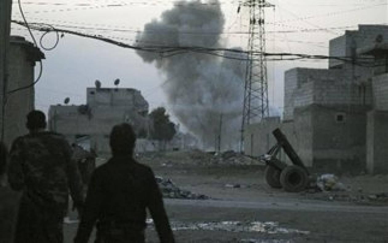 Σε εξέλιξη η απομάκρυνση των αμάχων από την παλιά πόλη της Χομς