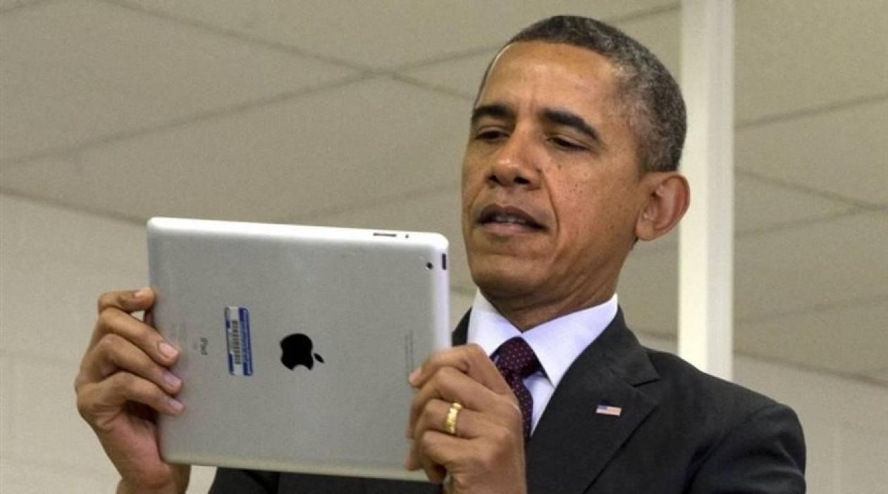 Απίστευτη γκάφα του Ομπάμα -Ξεφτιλίστηκε μπροστά σε 12χρονα (pic)