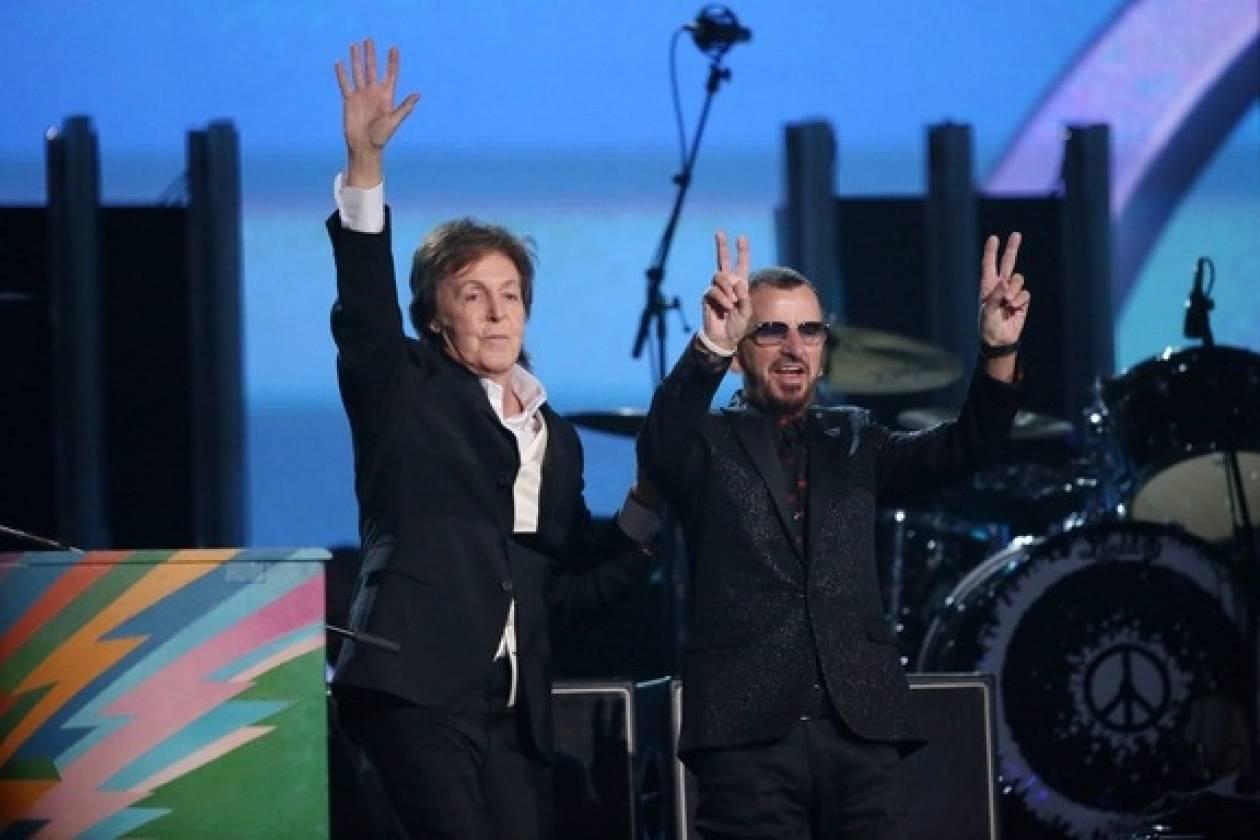 Ξανά μαζί στην οθόνη τα «σκαθάρια» Πολ Μακάρτεϊ και Ρίνγκο Σταρ!