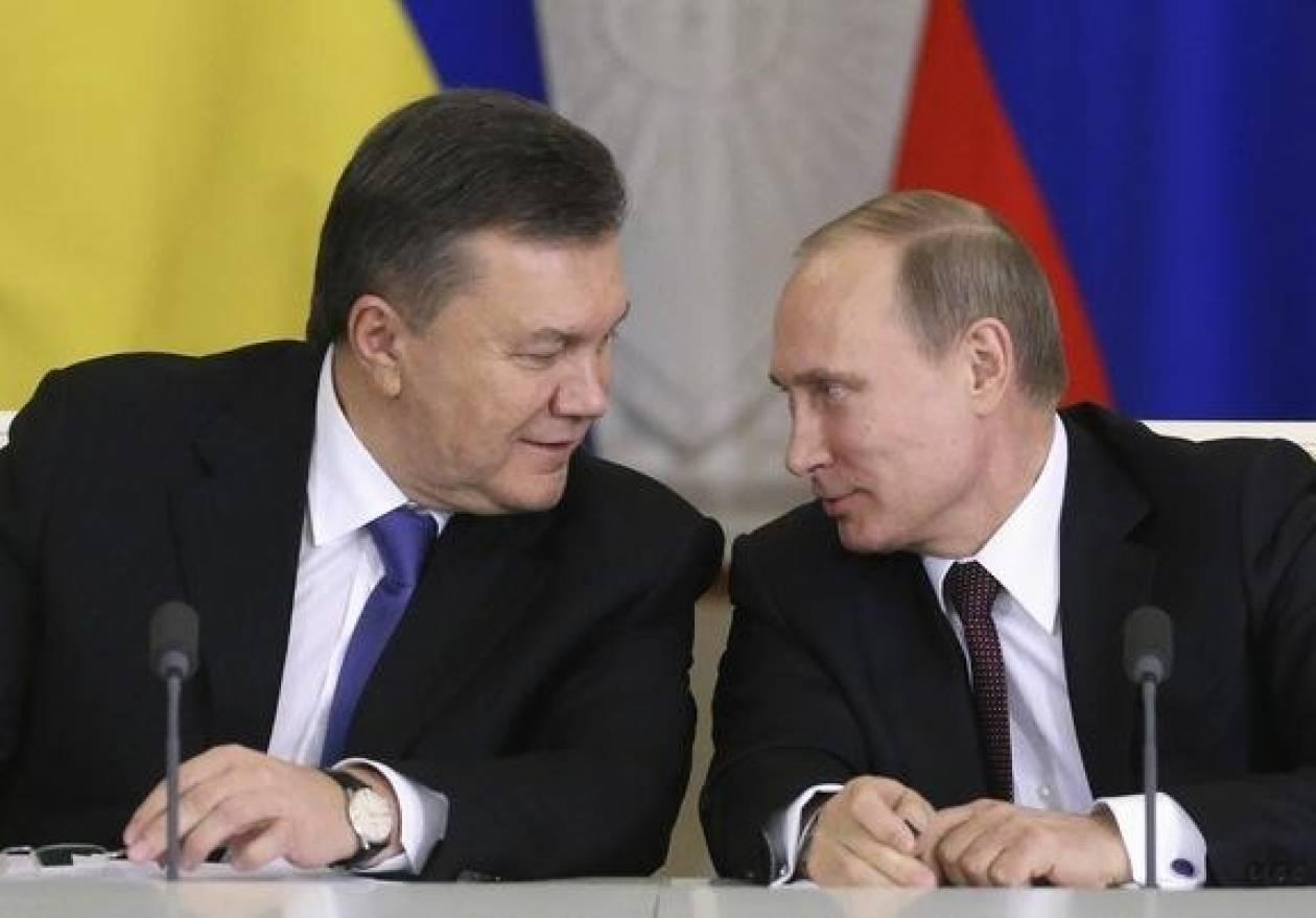 Συνομιλία Πούτιν και Γιανουκόβιτς στο Σότσι