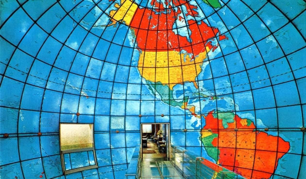 Mapparium: Μια τεράστια γυάλινη υδρόγειος σφαίρα!
