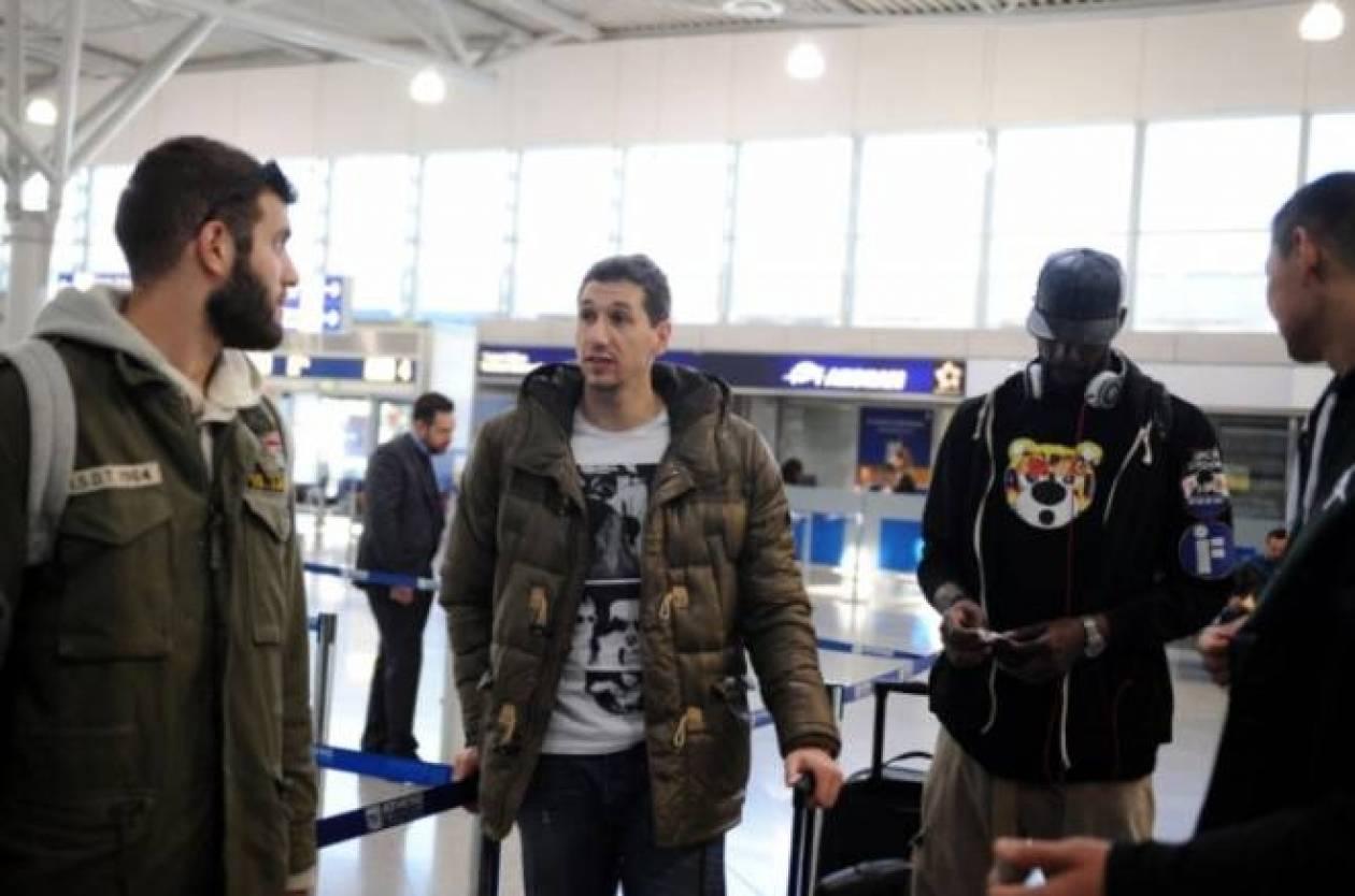 Παναθηναϊκός: Η άφιξη στην Κρήτη (videos)