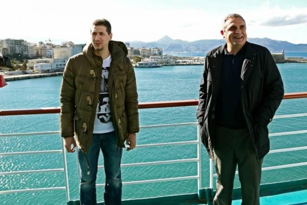 Παναθηναϊκός: Η ταινία της άφιξης στην Κρήτη (video)