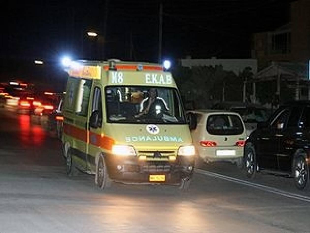 Θανατηφόρο τροχαίο στην εθνική οδό Δράμας - Σερρών