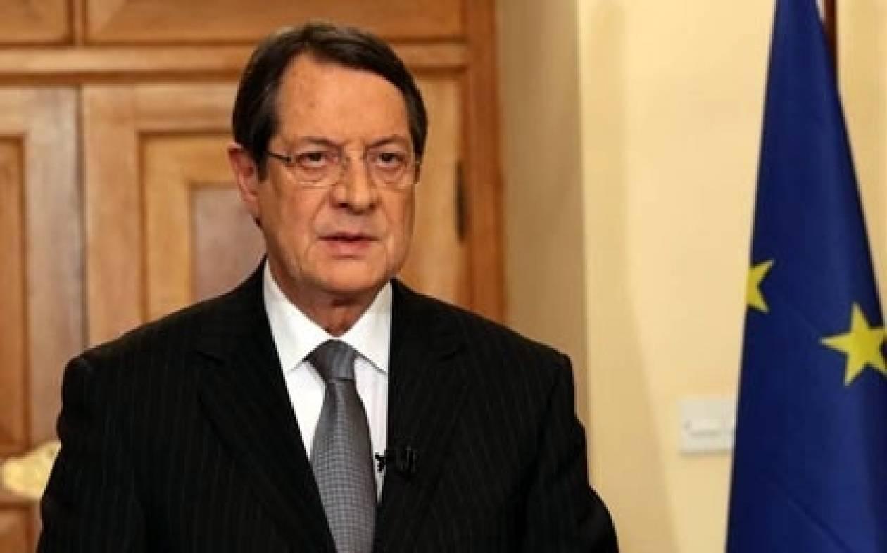 Αναστασιάδης: Αβάσιμοι οι ισχυρισμοί για το κοινό ανακοινωθέν