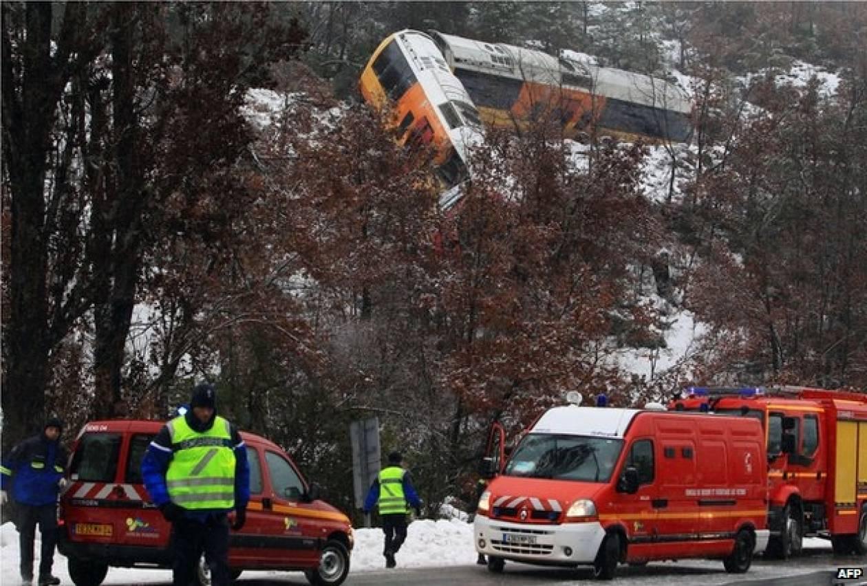 Γαλλία: 4 άτομα νοσηλεύονται μετά τον εκτροχιασμό τρένου στις Άλπεις