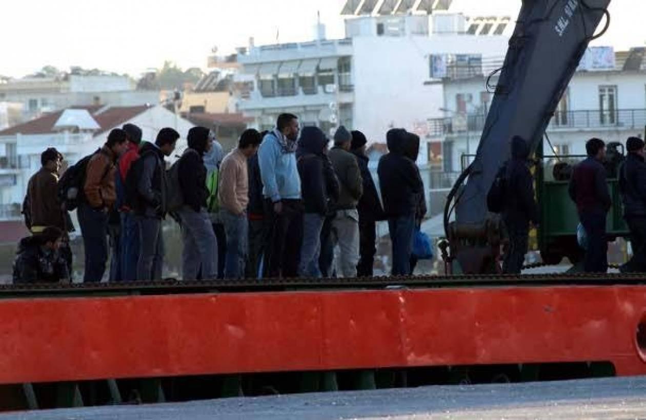 Συλλήψεις 34 παράνομων αλλοδαπών στη Μυτιλήνη