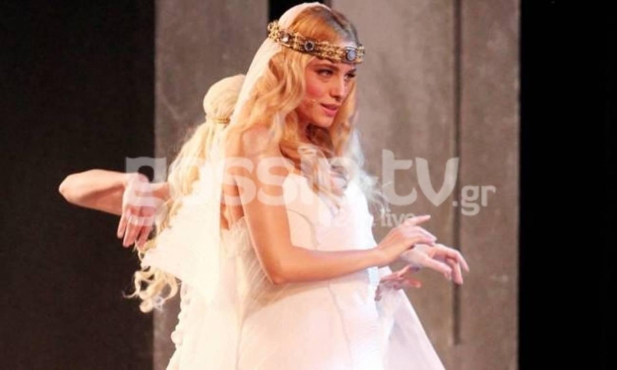 Δούκισσα Νομικού: Το θεατρικό της ντεμπούτο ως «Ωραία Ελένη»