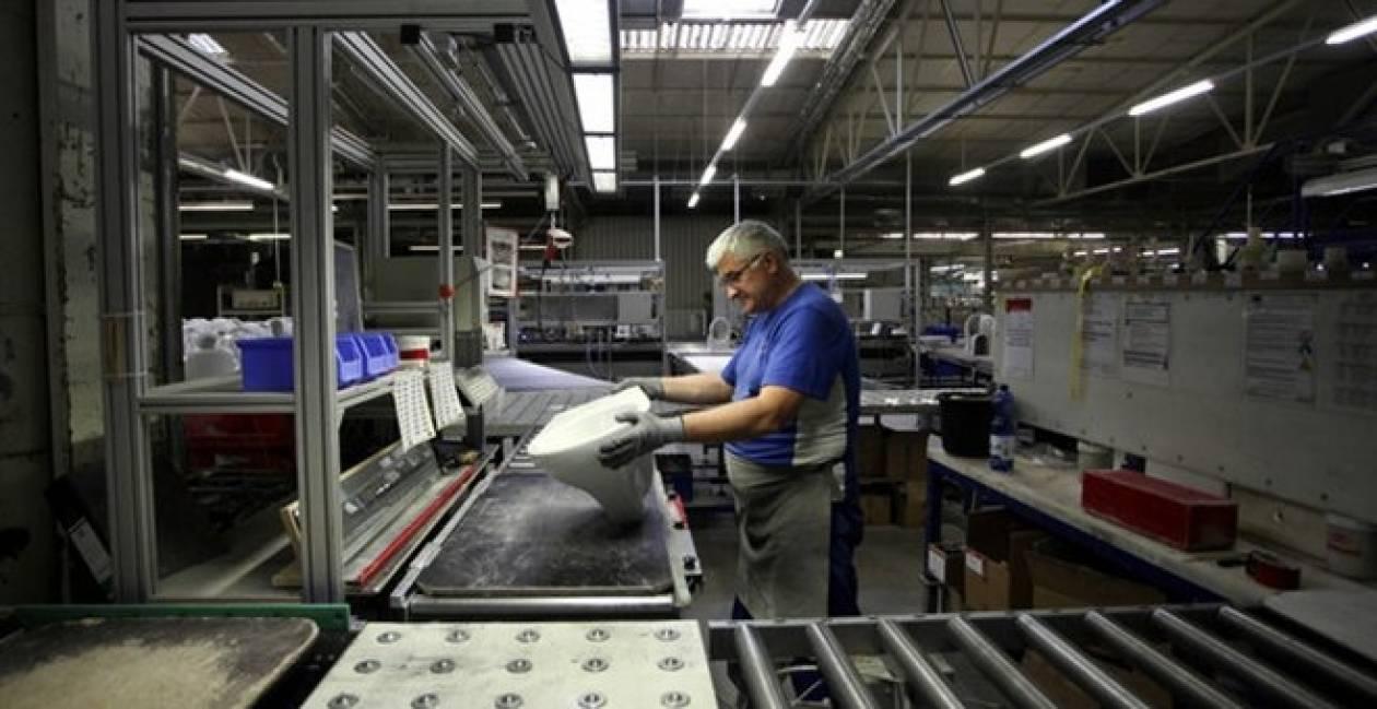 ΕΛΣΤΑΤ: Μείωση της βιομηχανικής παραγωγής το 2013