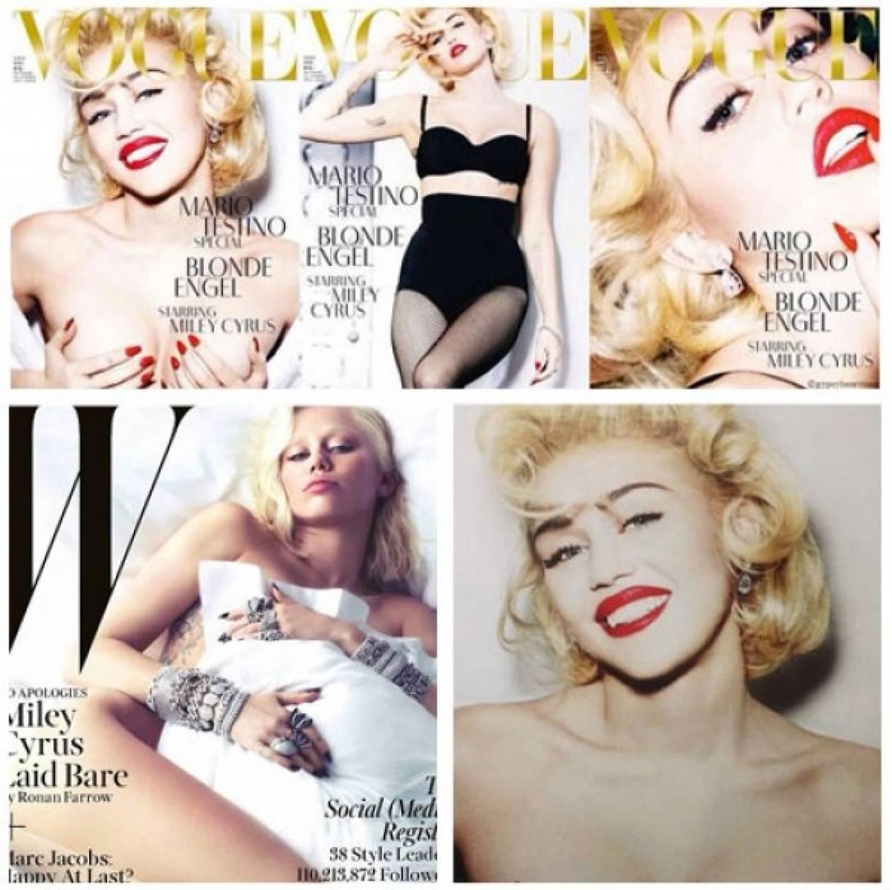 Είναι έτοιμη η Αμερική να αγκαλιάσει το γυμνό της Miley;