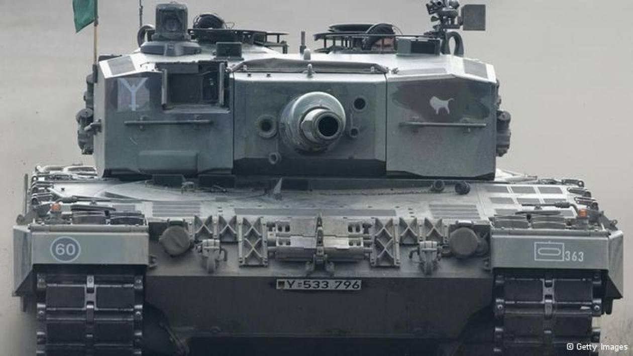 SZ: Στο προσκήνιο το σκάνδαλο αρμάτων μάχης Leopard 2 από την Αθήνα