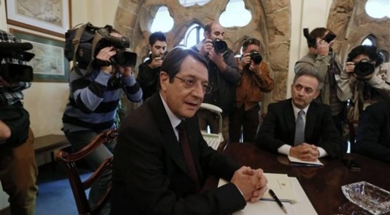 Αναστασιάδης: «Η υπόθεση του Κυπριακού σηκώνει τσιγάρο»