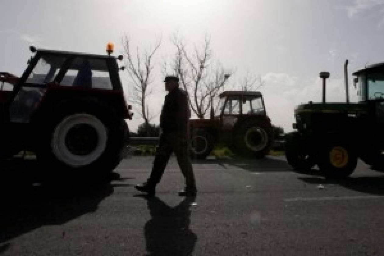 Έκλεισαν τον δρόμο οι αγρότες της Θεσσαλονίκης