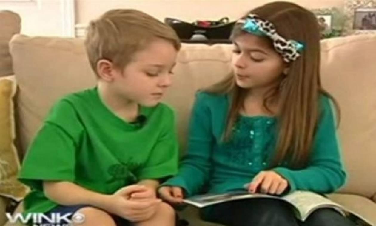 Η 9χρονη που έγραψε βιβλίο για να σώσει τον αδελφό της από ασθένεια