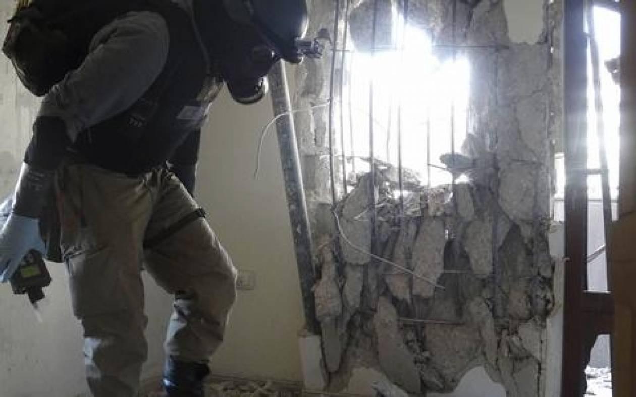 Τρίτο φορτίο χημικών όπλων απομακρύνθηκε από τη Συρία