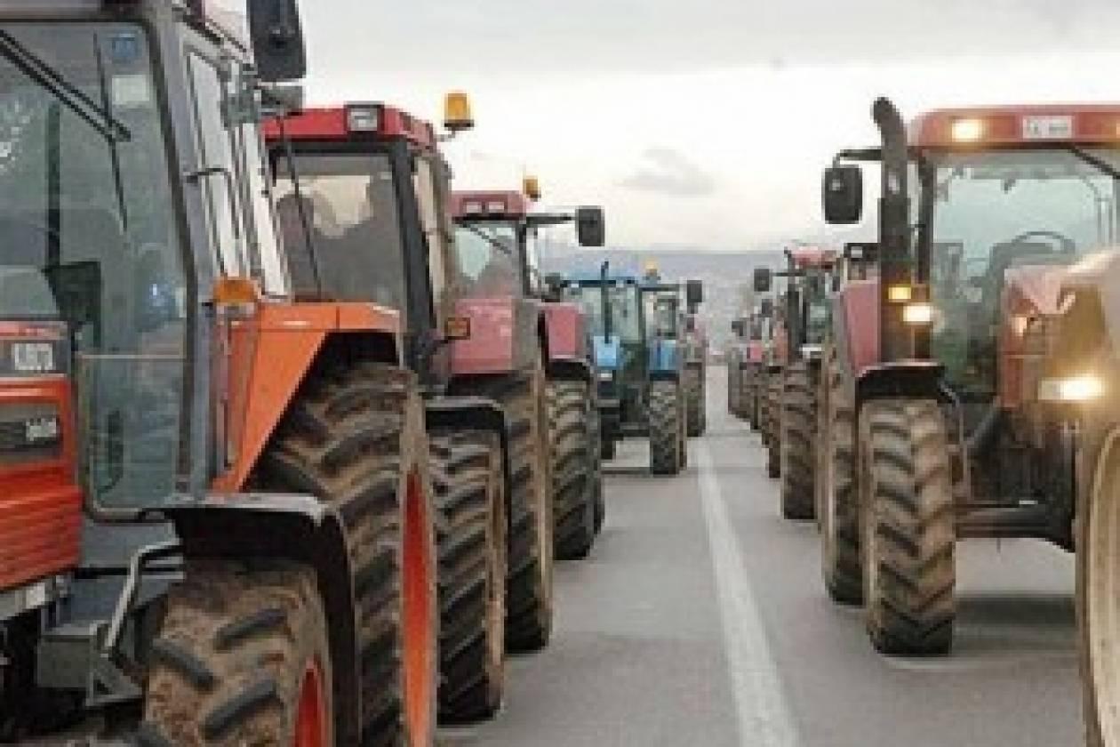 Ενίσχυση των μπλόκων των αγροτών στη Βόρεια Ελλάδα