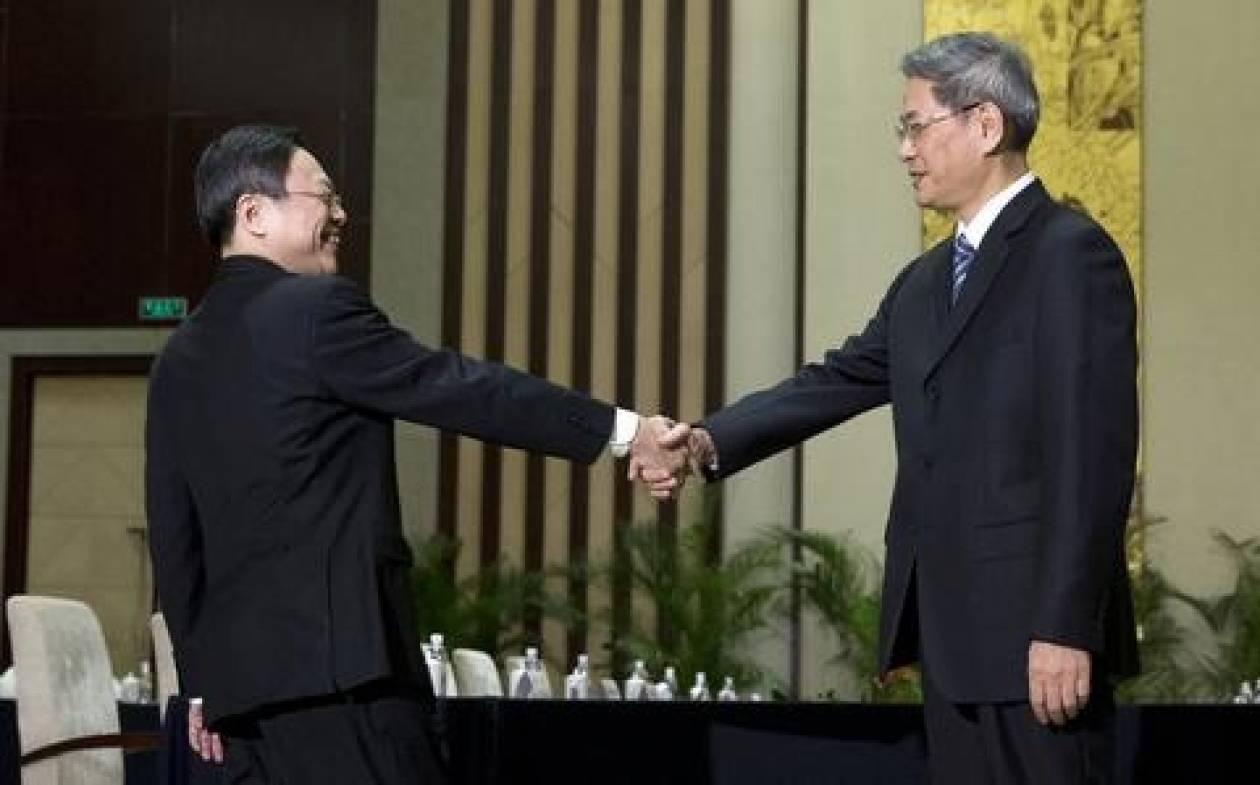 Κίνα και Ταϊβάν στο ίδιο τραπέζι μετά από 65 χρόνια