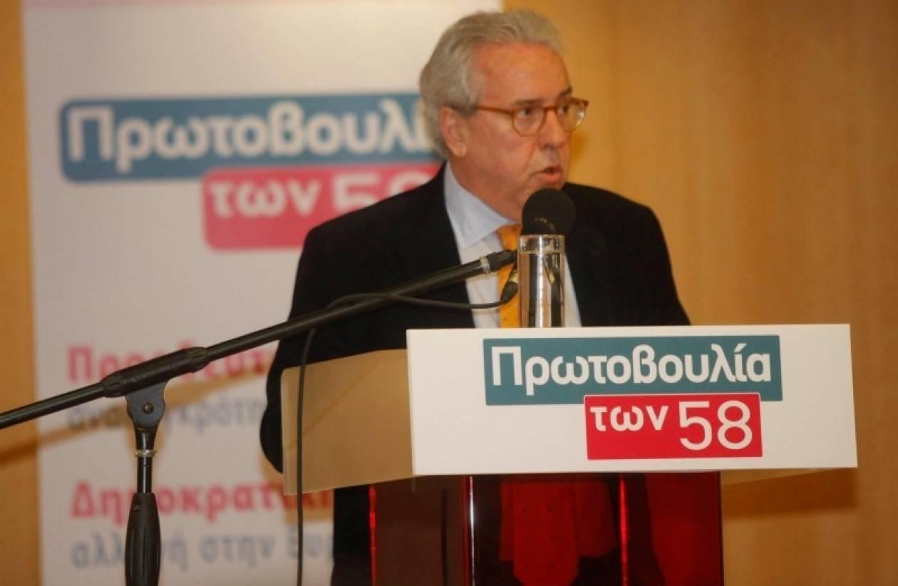 Βούλγαρης: Αντιδεοντολογική η απόφαση για «σταυρό» στις ευρωεκλογές
