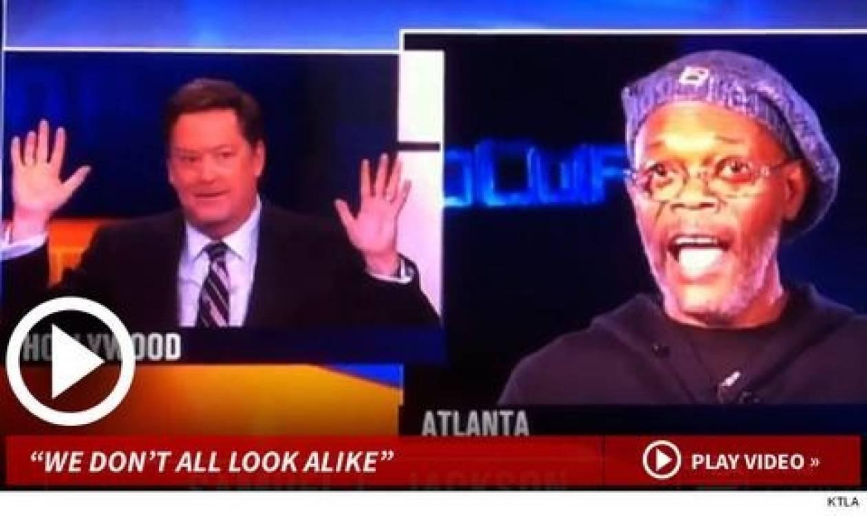 Τηλεπαρουσιαστής μπέρδεψε τον Σάμιουελ Τζάκσον με άλλον!(βίντεο)