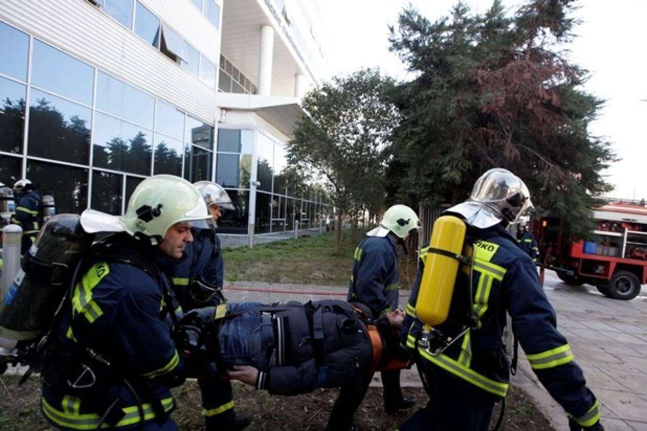 Δείτε την άσκηση εκκένωσης του ΣΔΟΕ μετά από τρομοκρατικό χτύπημα