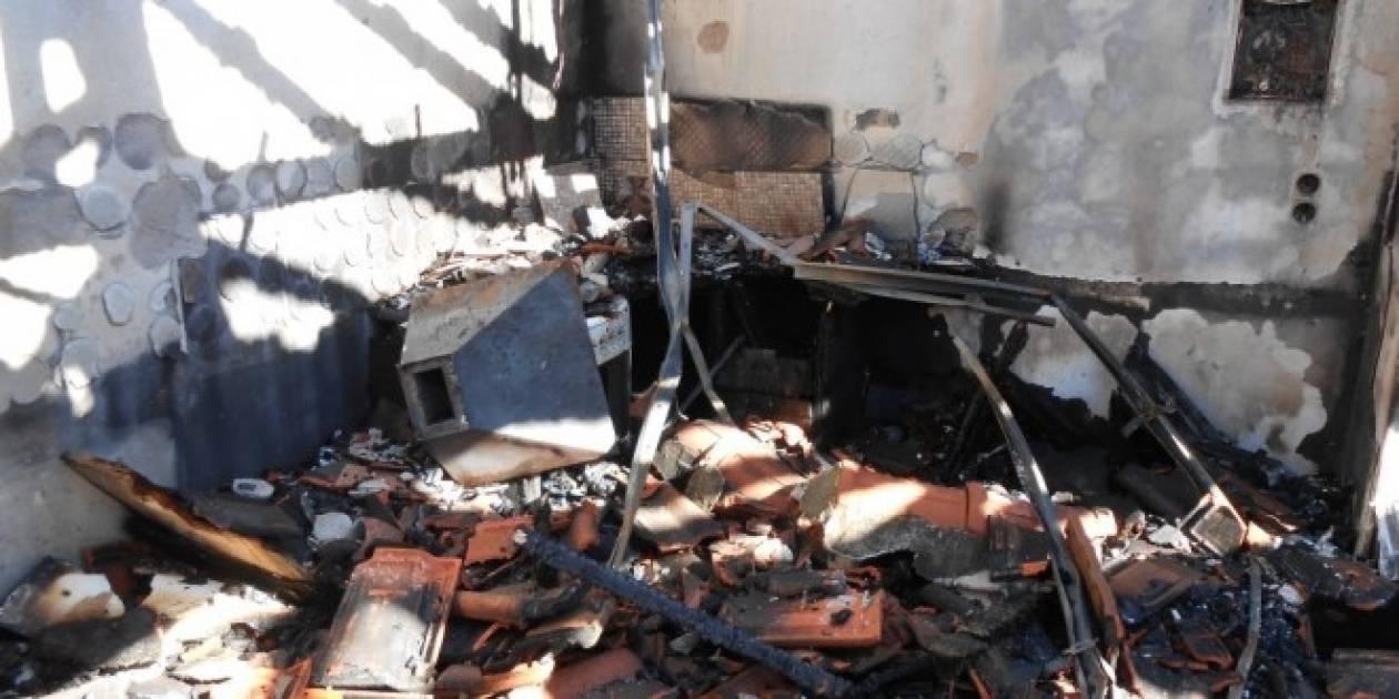 Φωτιά σε σπίτι στην Ξάνθη
