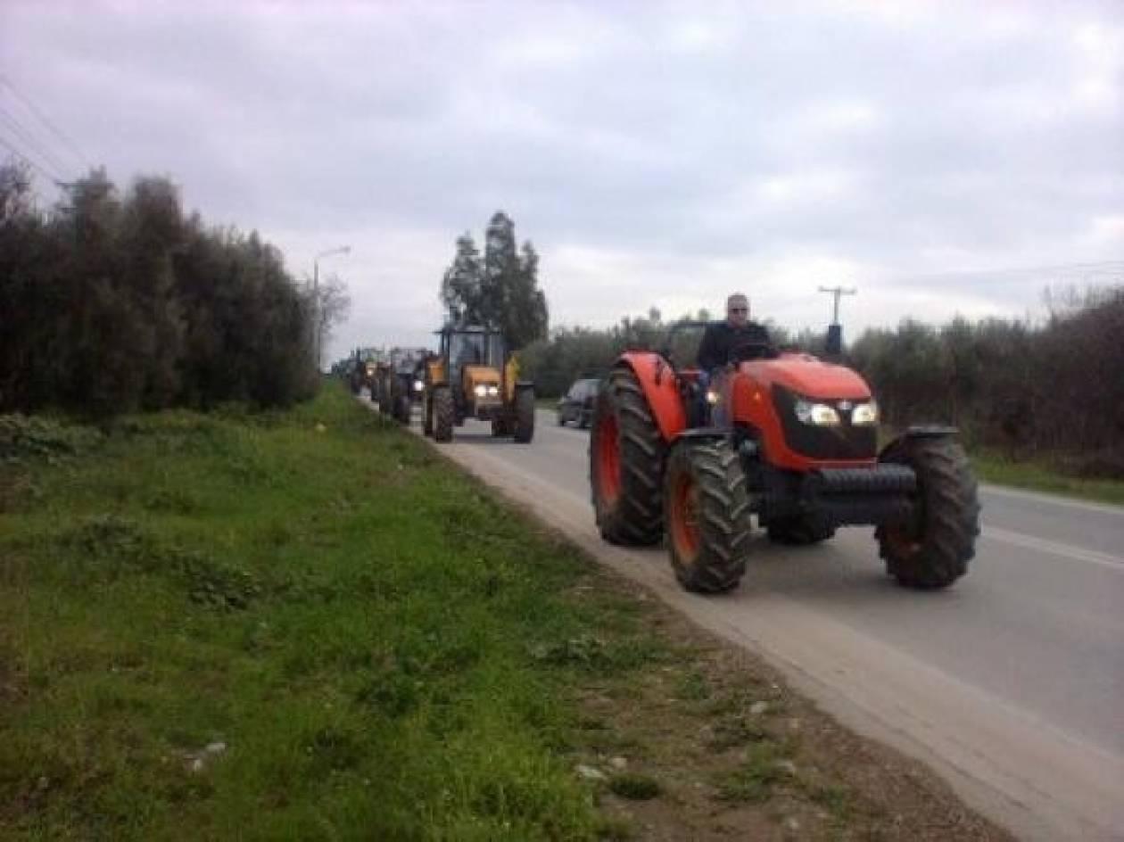 Βίντεο: Στους δρόμους και οι αγρότες της Καβάλας
