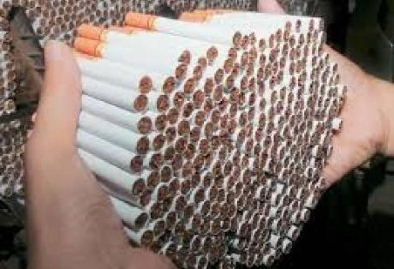 Ποσότητα-μαμούθ: Κατασχέθηκαν 27.200 λαθραία τσιγάρα