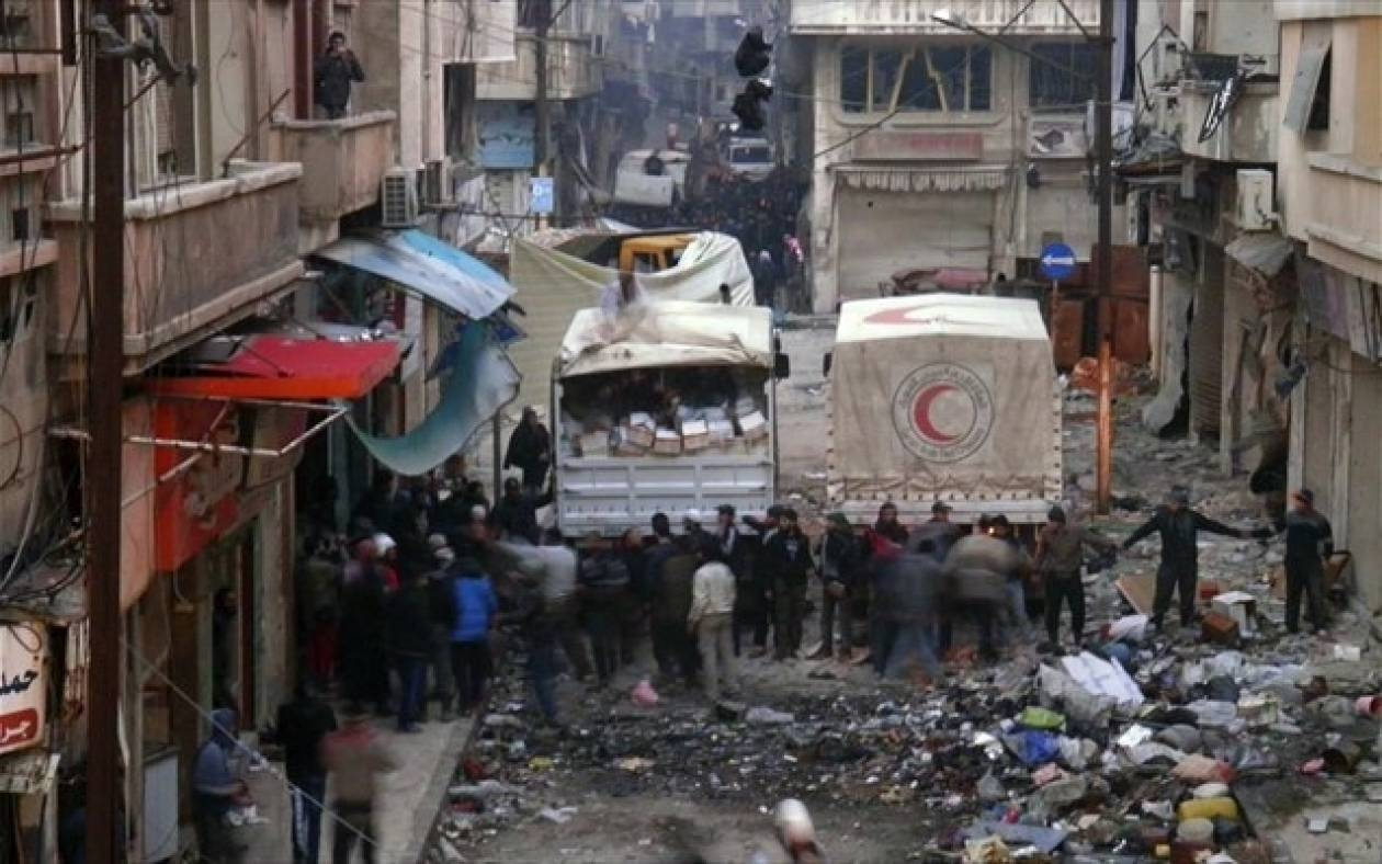 Ρωσία: Βέτο στην απόφαση για ανθρωπιστική κατάσταση στη Συρία