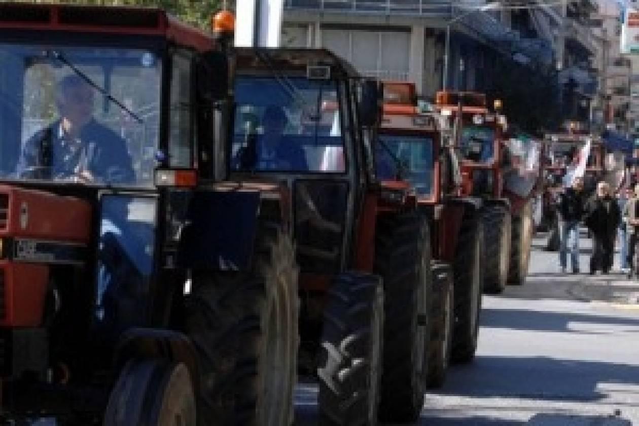 Στα μπλόκα και οι αγρότες της Καβάλας