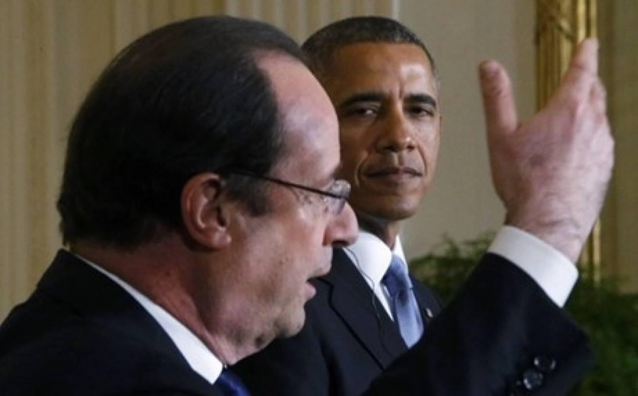 «Όχι» Ομπάμα σε στρατιωτική επέμβαση στη Συρία