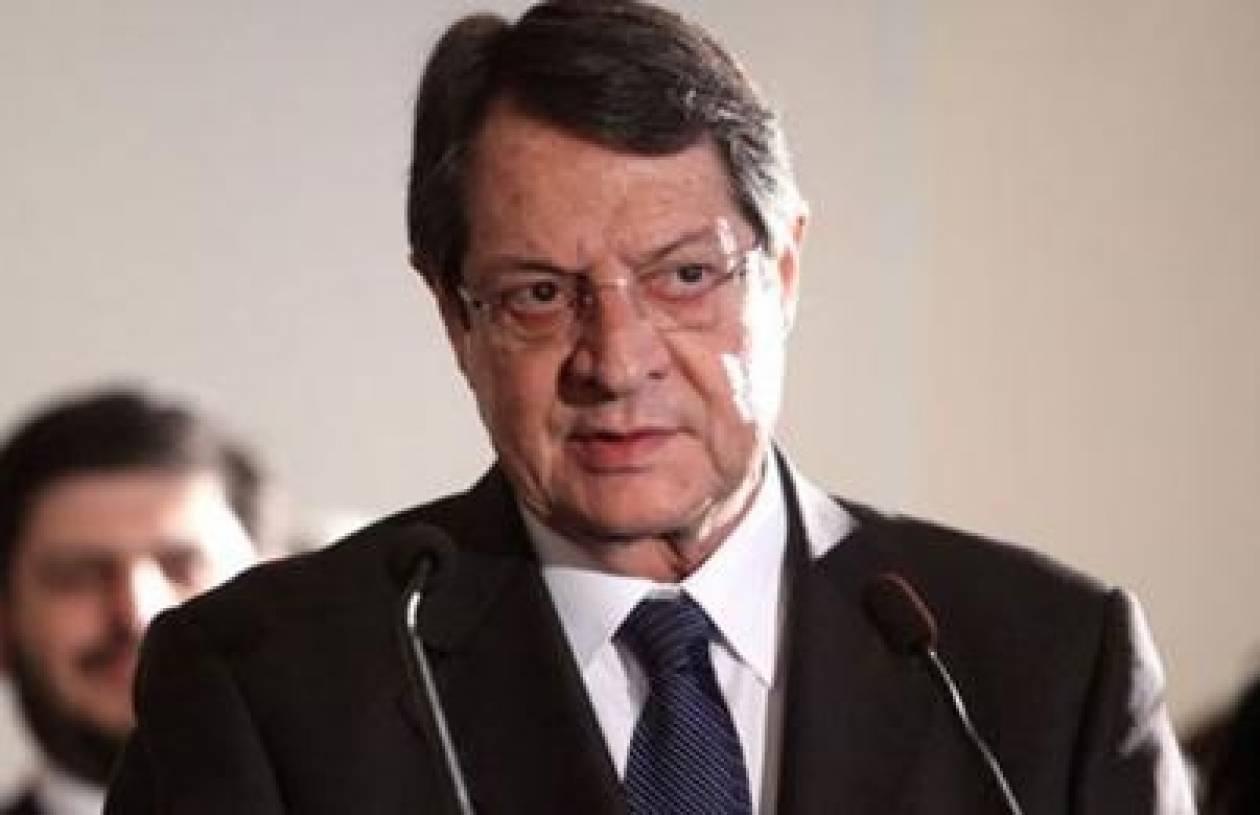 Αναστασιάδης: Διάγγελμα απόψε για την κατάσταση στο Κυπριακό