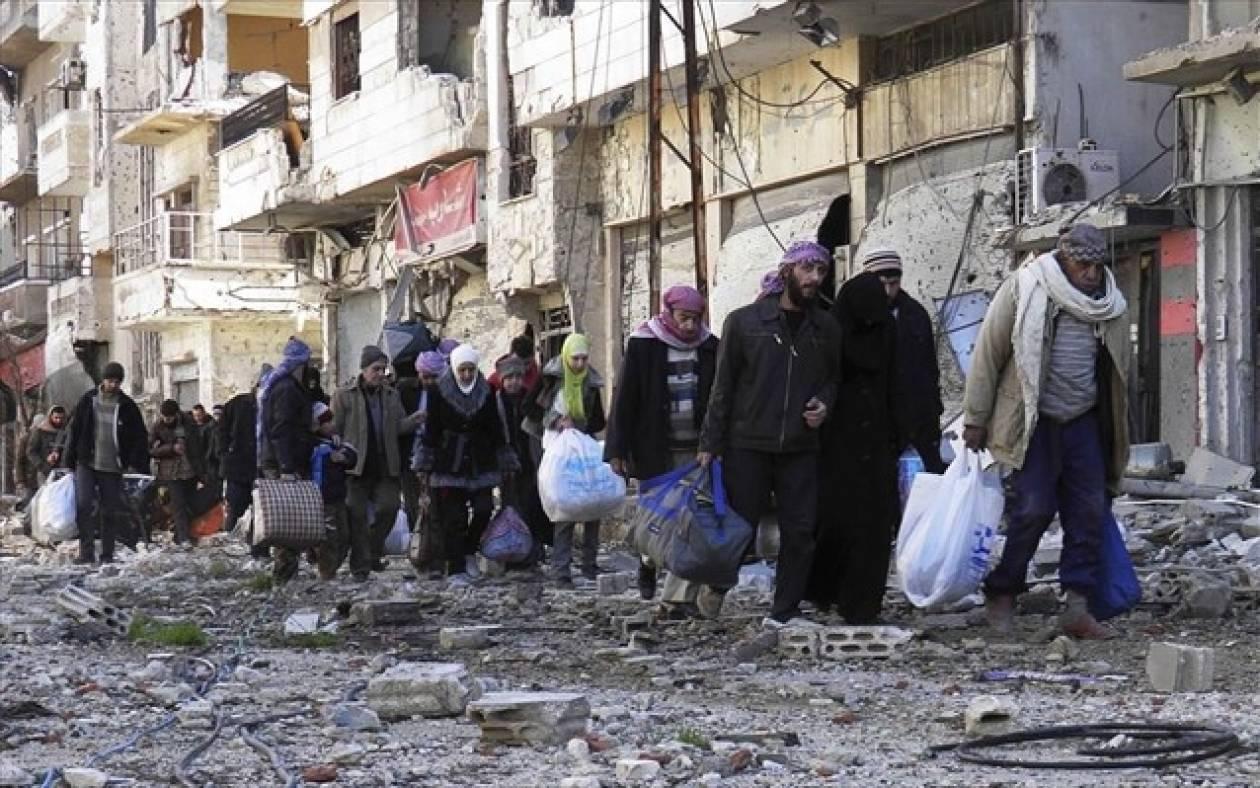 Συρία: Έφτασε στη Χομς η ανθρωπιστική αποστολή του ΟΗΕ
