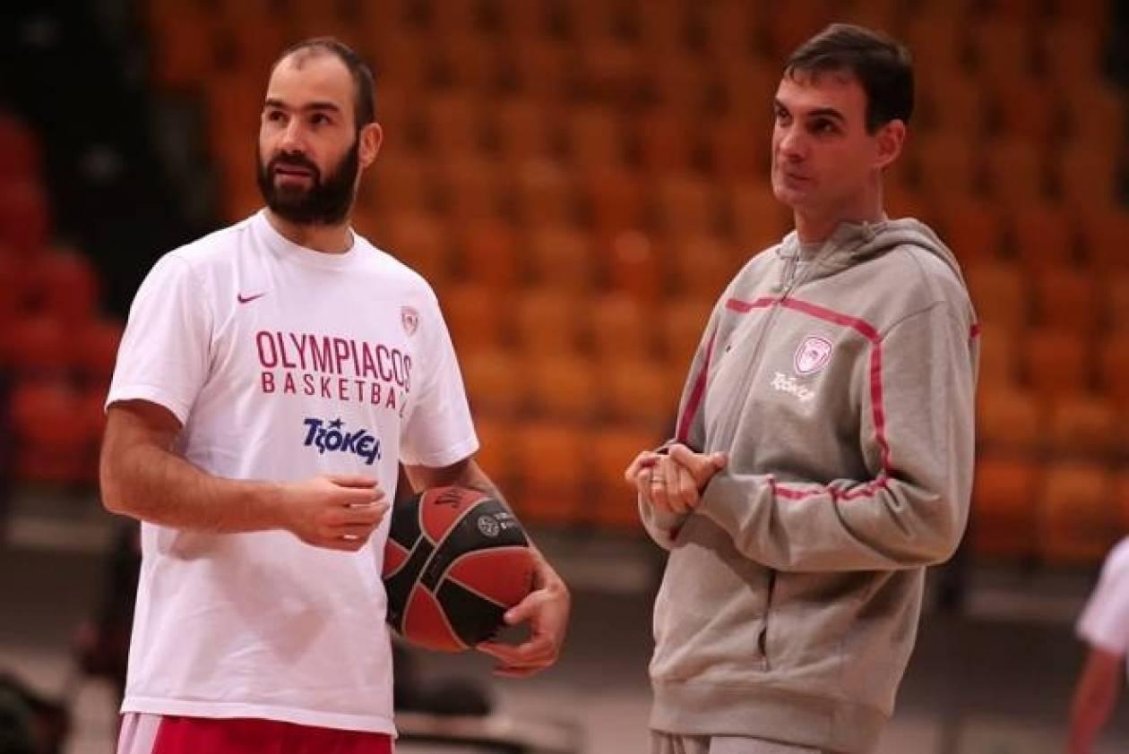 Ολυμπιακός: LIVE η προπόνηση στο ΣΕΦ (video)