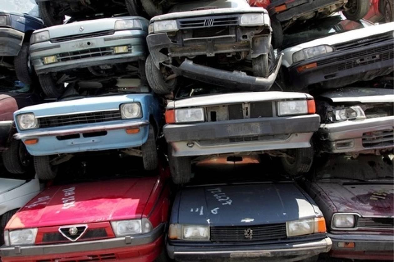 Απόσυρση εγκαταλειμμένων οχημάτων στη Θεσσαλονίκη
