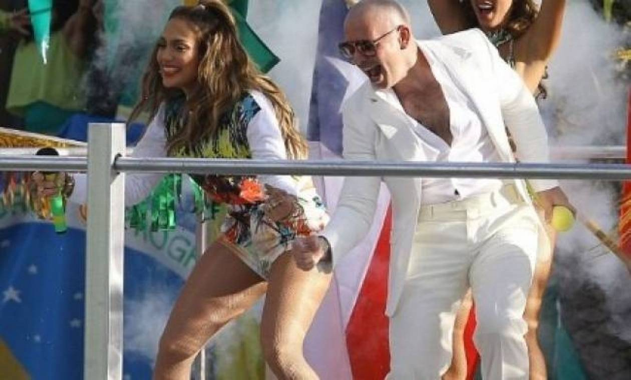 Backstage από τα γυρίσματα του video clip της Lopez για το Μουντιάλ
