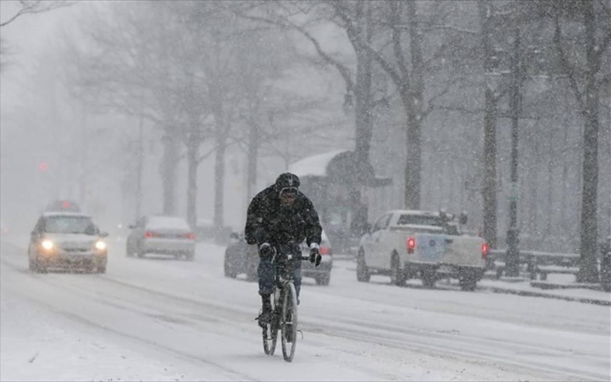 Προς την Ουάσιγκτον η χιονοθύελλα
