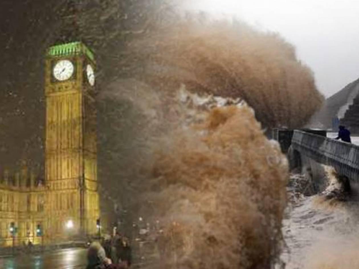 Θυελλώδεις άνεμοι «σαρώνουν» Βρετανία και Ιρλανδία