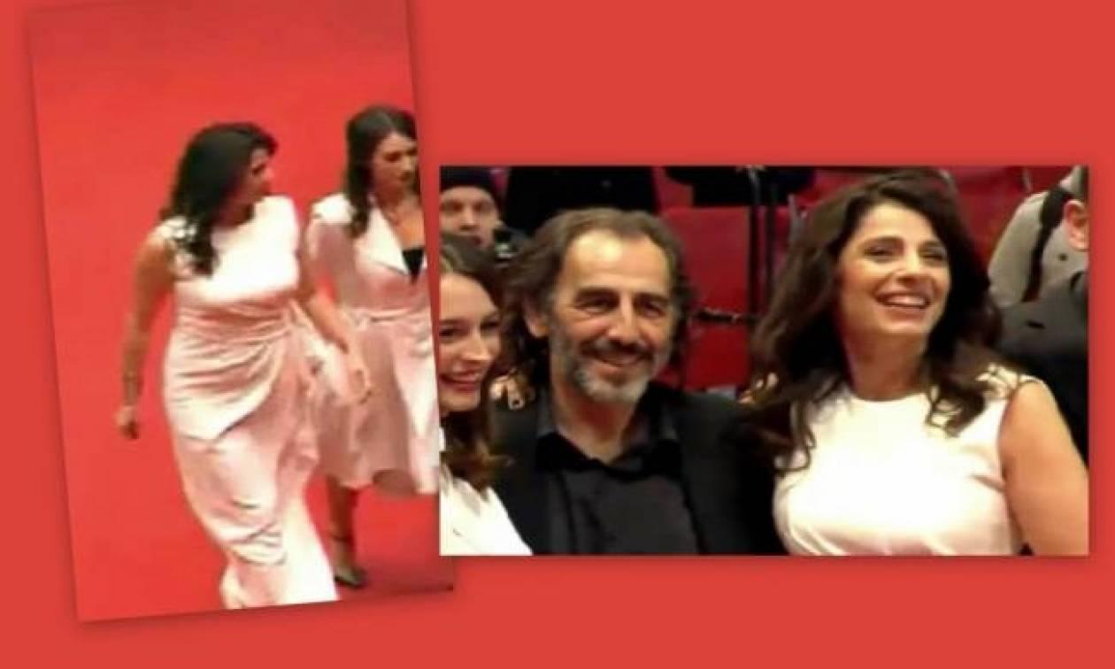 Δείτε την Πόπη Τσαπανίδου στο κόκκινο χαλί!
