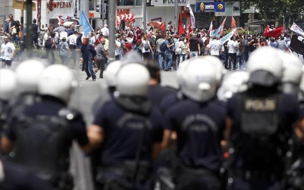 Τουρκία: Δακρυγόνα κατά διαδηλωτών μπροστά από το κοινοβούλιο