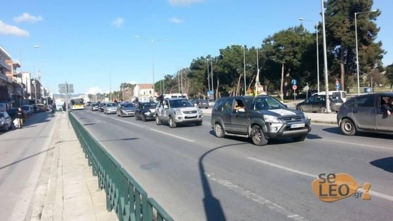 Στο κέντρο της Θεσσαλονίκης η μηχανοκίνητη πορεία των Σχολικών Φυλάκων