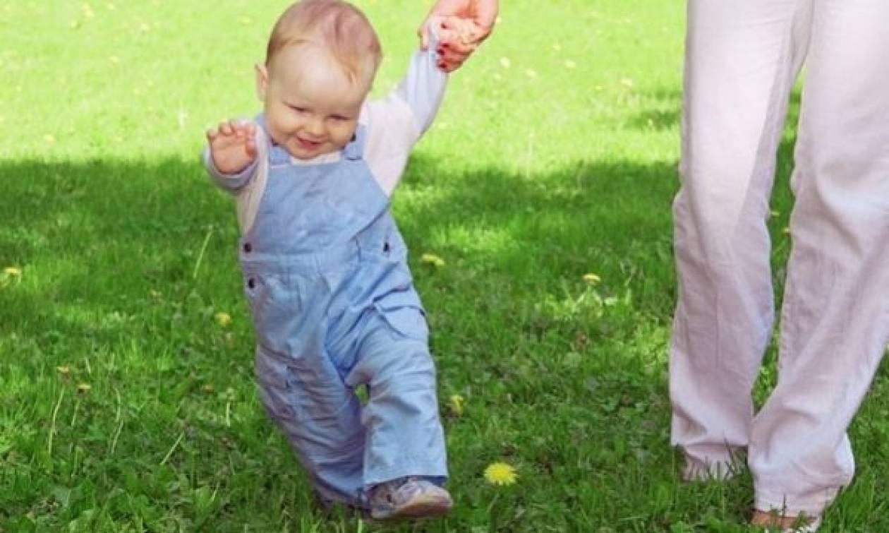 Πότε θα περπατήσει το παιδί μου;