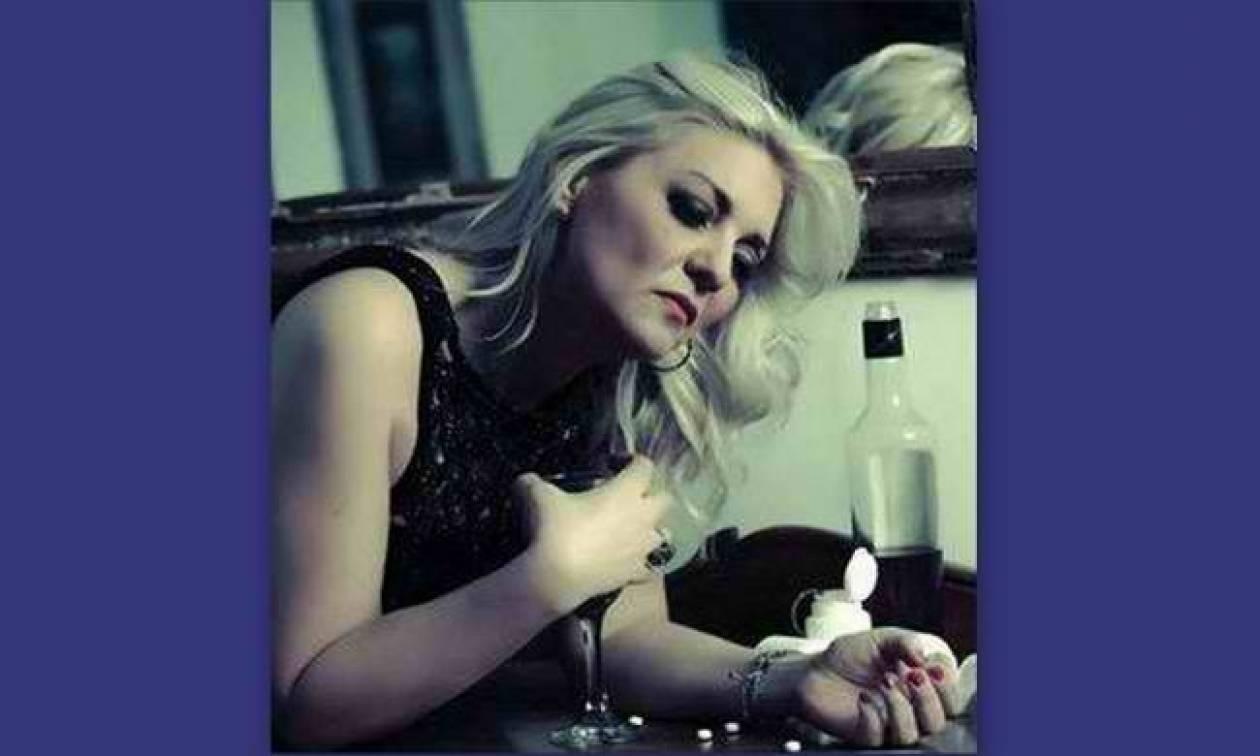 Νατάσα Ράγιου : Στη μάχη κατά του αλκοόλ με μια φωτογράφηση...