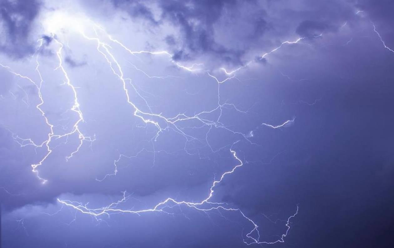 Ισχυρές καταιγίδες την Παρασκευή
