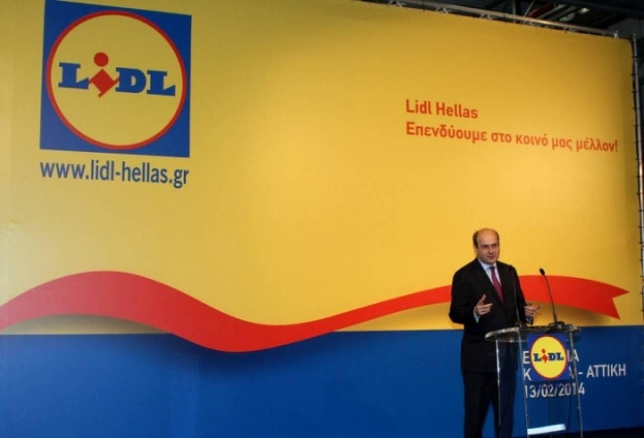 Χατζηδάκης: Ψήφος εμπιστοσύνης η επένδυση της Lidl Ελλάς
