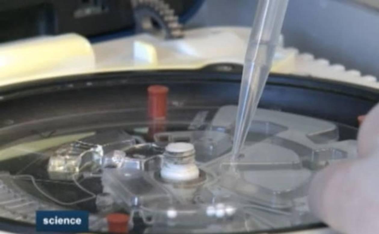 Φορητή συσκευή κάνει τις βασικές ιατρικές εξετάσεις σε χρόνο μηδέν