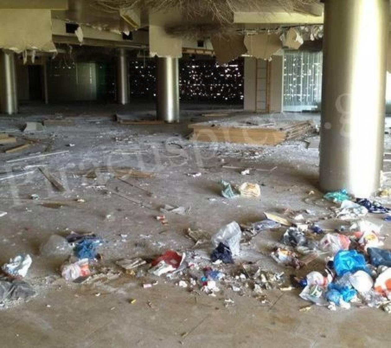 ΕΙΚΟΝΕΣ ΝΤΡΟΠΗΣ, πλήρους εγκατάλειψης και απόλυτης καταστροφής στο ΣΕΦ