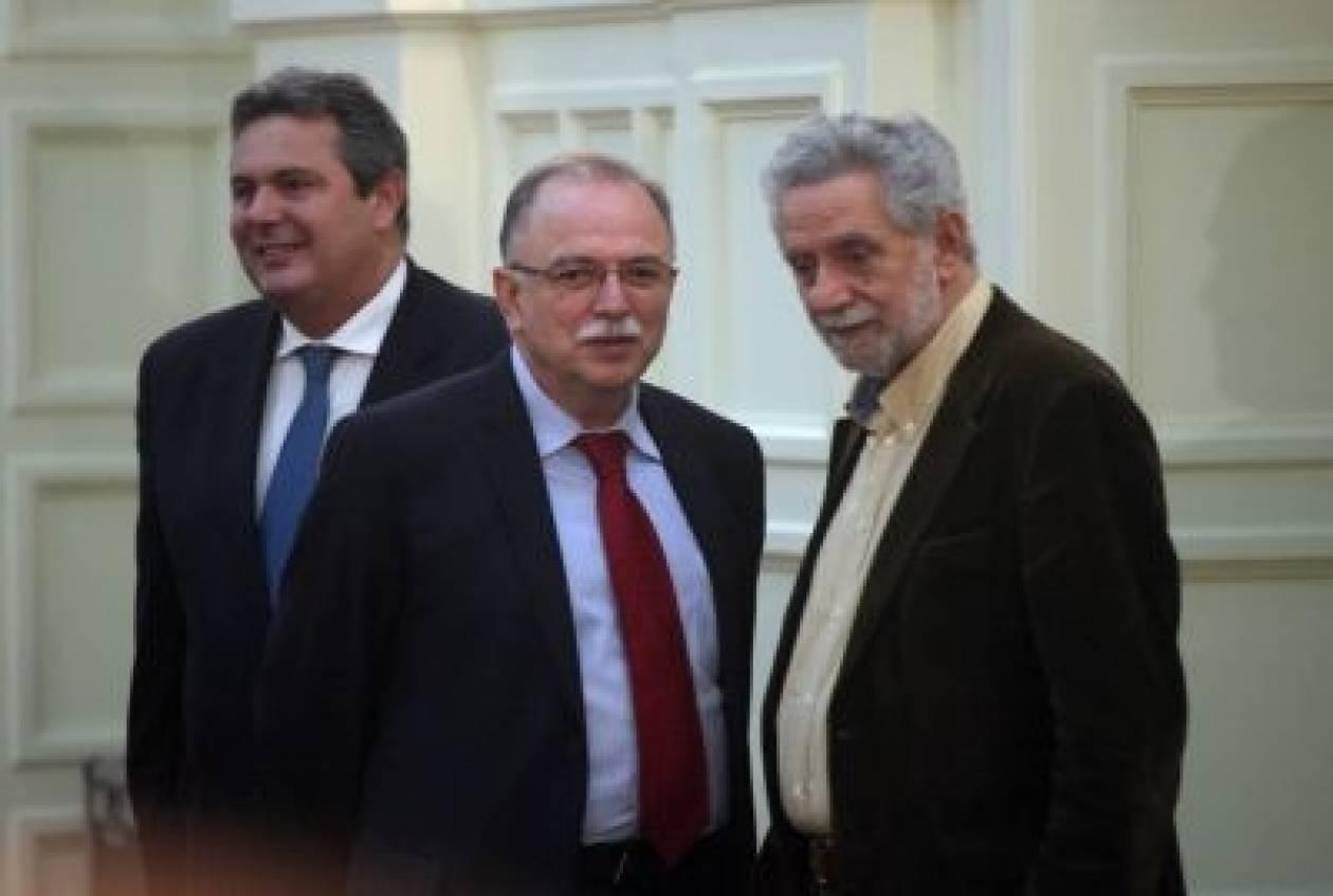 Παπαδημούλης: Λύση του Κυπριακού με διζωνική, δικοινοτική ομοσπονδία