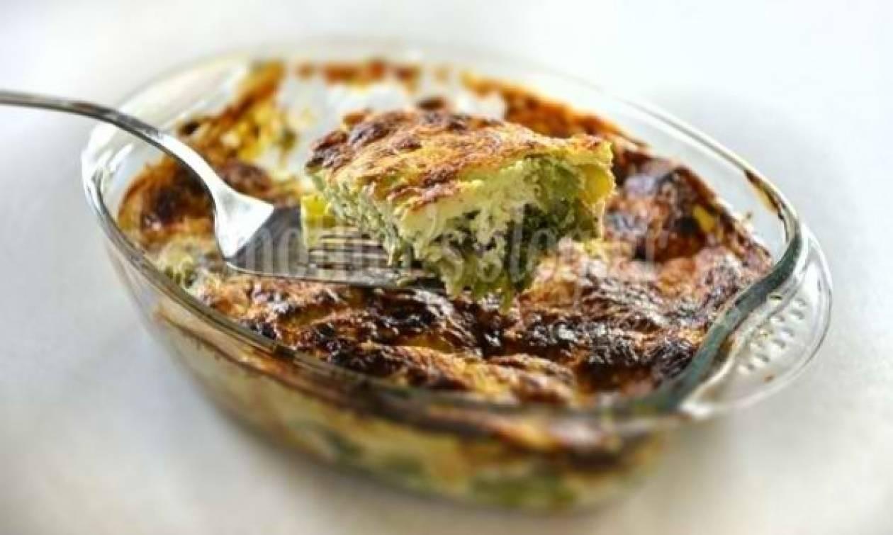 Συνταγή από τον Γιώργο Γεράρδο για μπρόκολο στο φούρνο με γιαούρτι