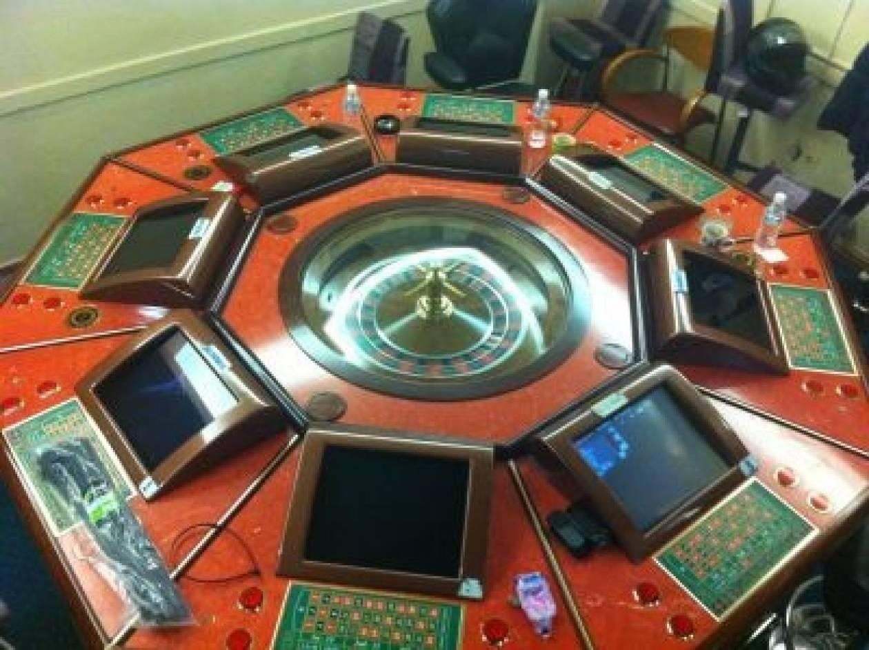 Μίνι «καζίνο» στον Άλιμο